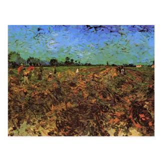 Der grüne Weinberg durch Vincent van Gogh Postkarte