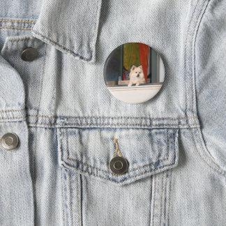 Der Gruß-Ausschuss Runder Button 5,7 Cm