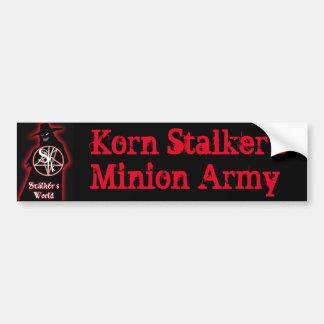 Der Günstlings-Armee-Autoaufkleber Korn Stalkers Autoaufkleber