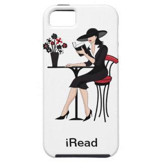 Der Gut-Lesenfrau iPhone 5 Fall iPhone 5 Schutzhüllen