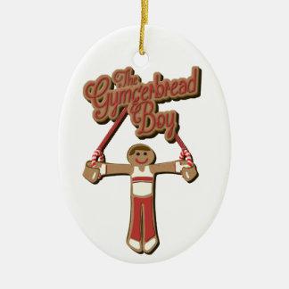 Der Gymgerbread Junge - Weihnachten 2017 Keramik Ornament