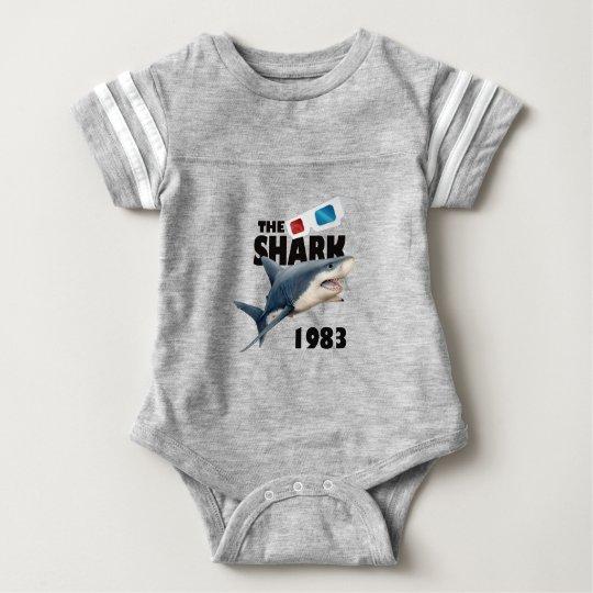Der Haifisch-Film Baby Strampler