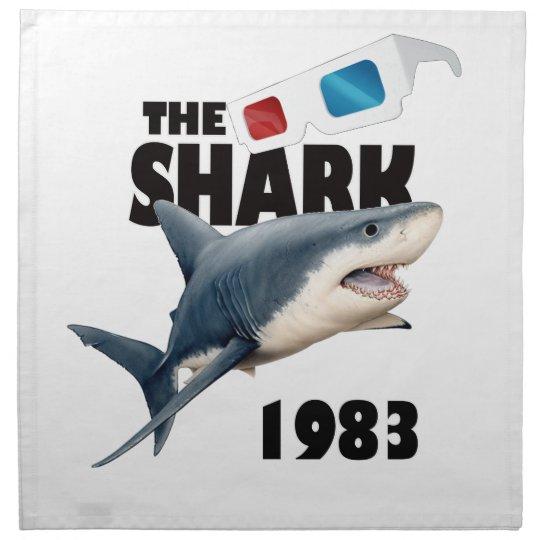 Der Haifisch-Film Bedruckte Serviette