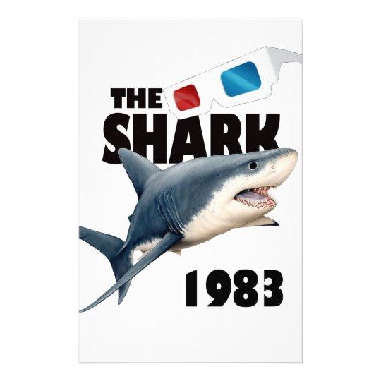 Der Haifisch-Film Briefpapier