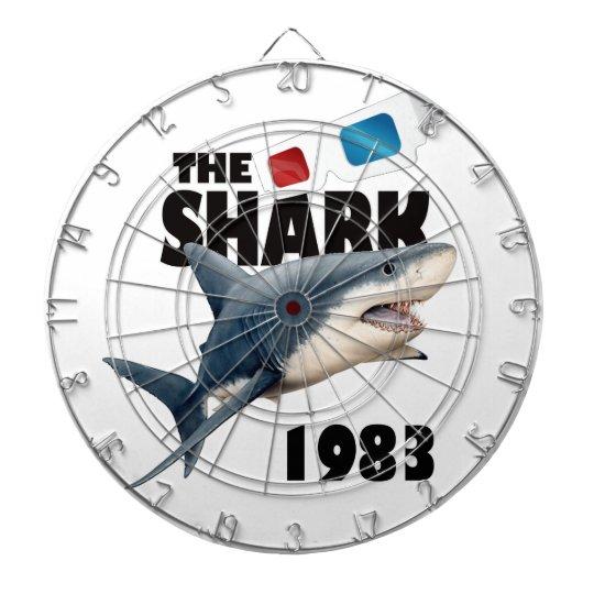 Der Haifisch-Film Dartscheibe