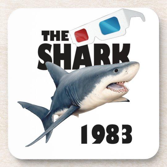 Der Haifisch-Film Getränkeuntersetzer