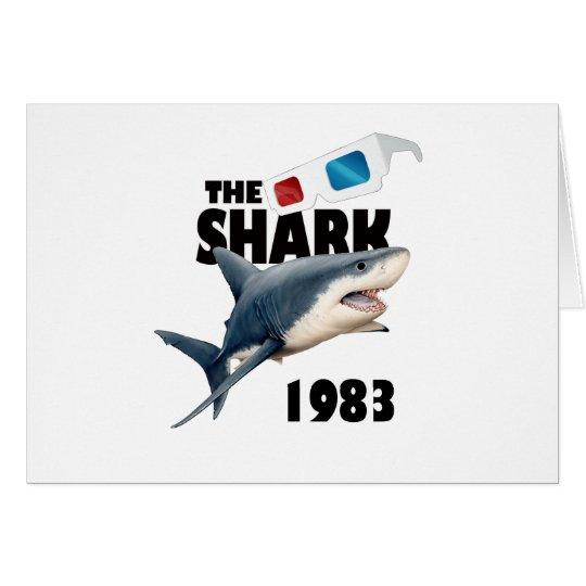 Der Haifisch-Film Grußkarte