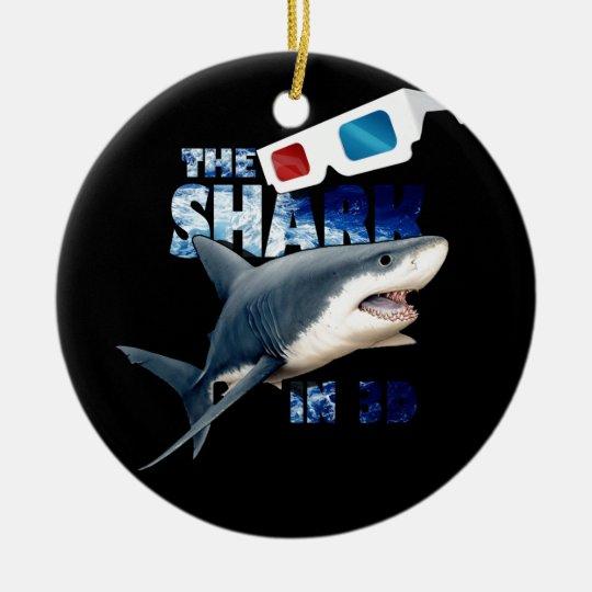 Der Haifisch-Film Keramik Ornament