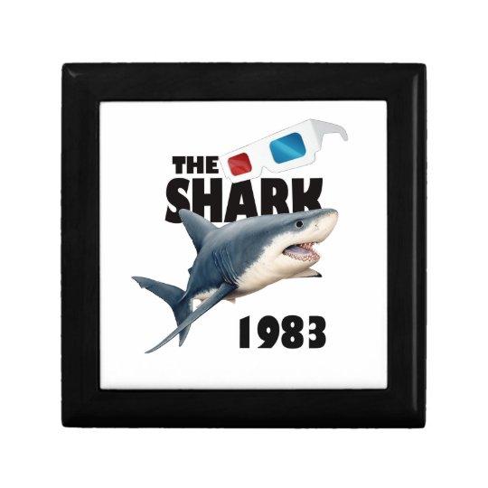 Der Haifisch-Film Kleine Quadratische Schatulle