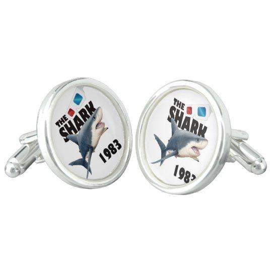 Der Haifisch-Film Manschettenknöpfe