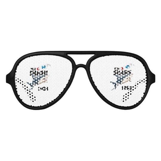 Der Haifisch-Film Piloten Sonnenbrillen