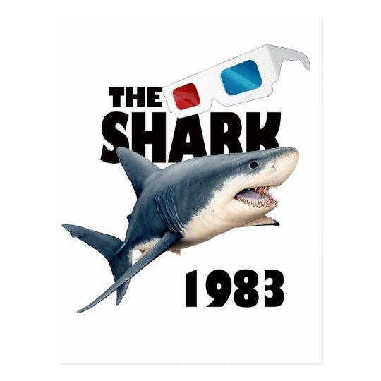 Der Haifisch-Film Postkarte