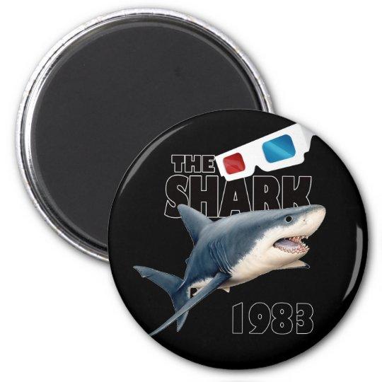 Der Haifisch-Film Runder Magnet 5,7 Cm