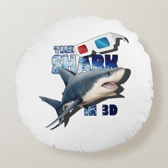 Der Haifisch-Film Rundes Kissen