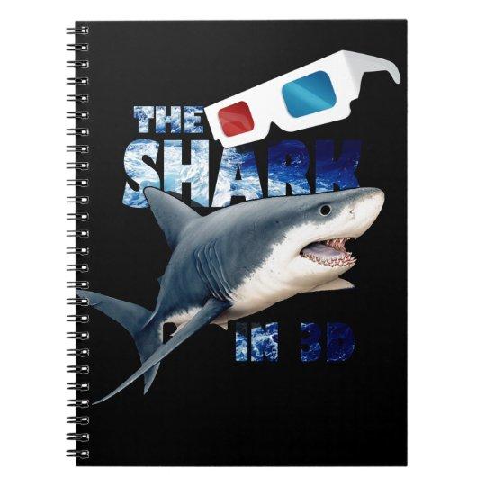 Der Haifisch-Film Spiral Notizblock