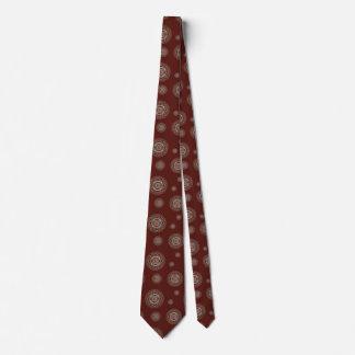 Der Hals-Krawatte der Widdermandala-Männer Krawatte