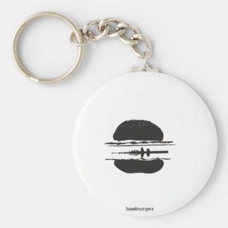 Der Hamburger Schlüsselanhänger