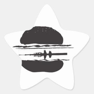 Der Hamburger Stern-Aufkleber