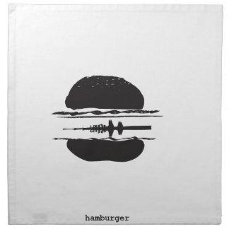 Der Hamburger Stoff Servietten