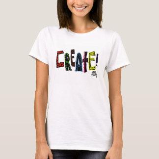 Der Hanes ComfortSoft der Schaffen-Frauen Weiß-T - T-Shirt