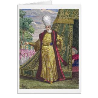 Der HauptJanissary, von den 'Recueil d'estampes Karte