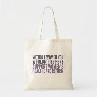 Der Healhcare der Stützfrauen Reform Tragetasche