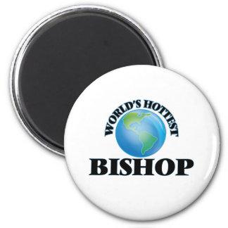 Der heißeste Bischof der Welt Runder Magnet 5,7 Cm