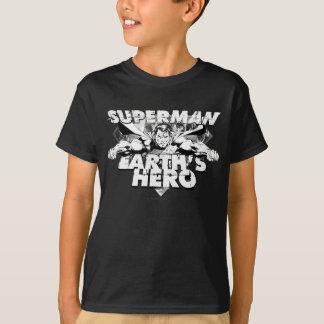 Der Held der Supermann-Erde T-Shirt