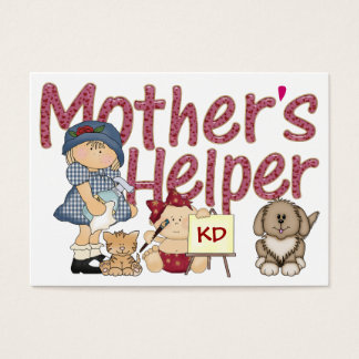 Der Helfer der Mutter Visitenkarte