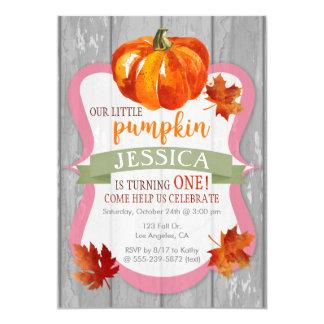 Der Herbst-Geburtstags-Einladung wenigen 12,7 X 17,8 Cm Einladungskarte