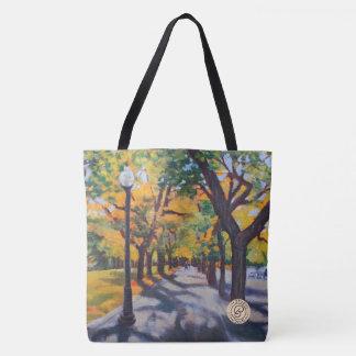 Der Herbst verlässt Bahn Tasche