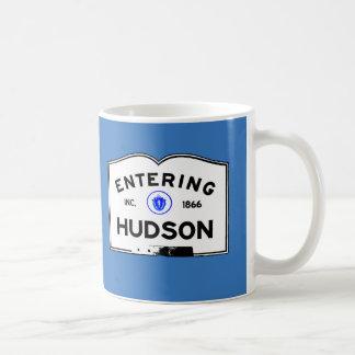 Der hereinkommende Hudson Kaffeetasse