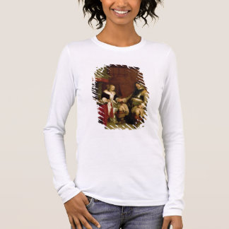 Der Herr-Soldat (Öl auf Leinwand) Langarm T-Shirt