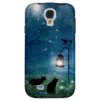 Der Hexe-Katzentelefonkasten Galaxy S4 Hülle