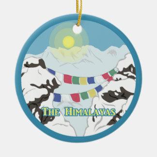 Der Himalaja Keramik Ornament