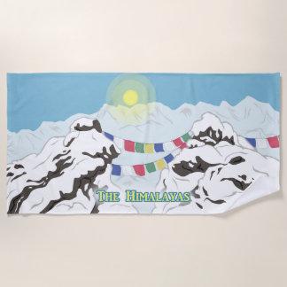 Der Himalaja Strandtuch