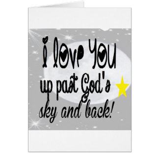 Der Himmel Liebesie Vergangenheit Gottes Karte