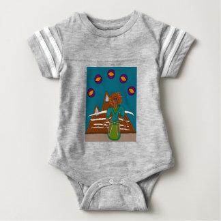 Der Himmel-Wanderer Baby Strampler