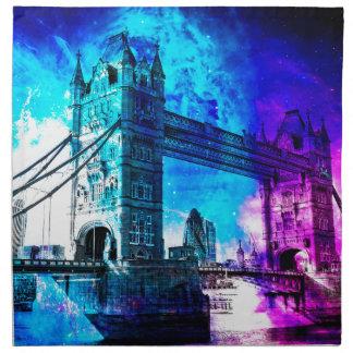 Der Himmels-London-Träume der Schaffung Stoffserviette