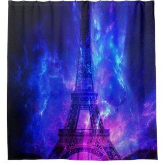 Der Himmels-Paris-Amethyst-Träume der Schaffung Duschvorhang