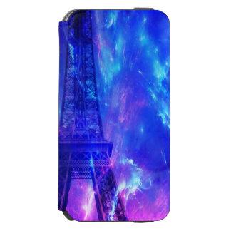 Der Himmels-Paris-Amethyst-Träume der Schaffung Incipio Watson™ iPhone 6 Geldbörsen Hülle