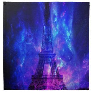 Der Himmels-Paris-Amethyst-Träume der Schaffung Stoffserviette