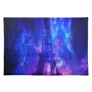 Der Himmels-Paris-Amethyst-Träume der Schaffung Tischset
