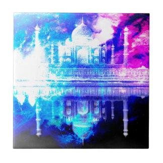 Der Himmels-Taj Mahal Träume der Schaffung Fliese