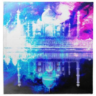 Der Himmels-Taj Mahal Träume der Schaffung Stoffserviette