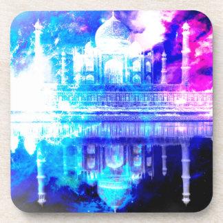 Der Himmels-Taj Mahal Träume der Schaffung Untersetzer