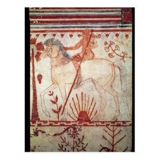 Der Hinterhalt des Trojan Prinzen Troilus Postkarte