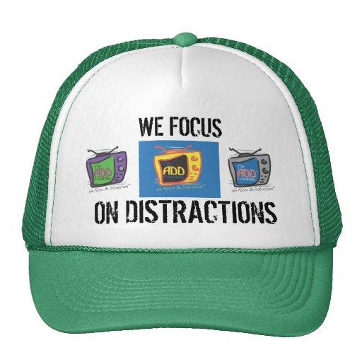 Der HINZUFÜGEN Kanal - wir konzentrieren uns auf A Baseball Caps