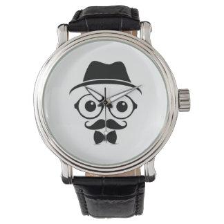 Der Hipster-Typ-Uhr der Männer coole Trendy Uhren