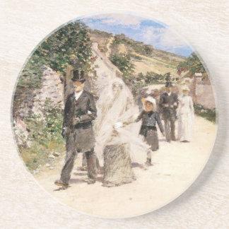 Der Hochzeits-März durch Robinson, Vintage Untersetzer